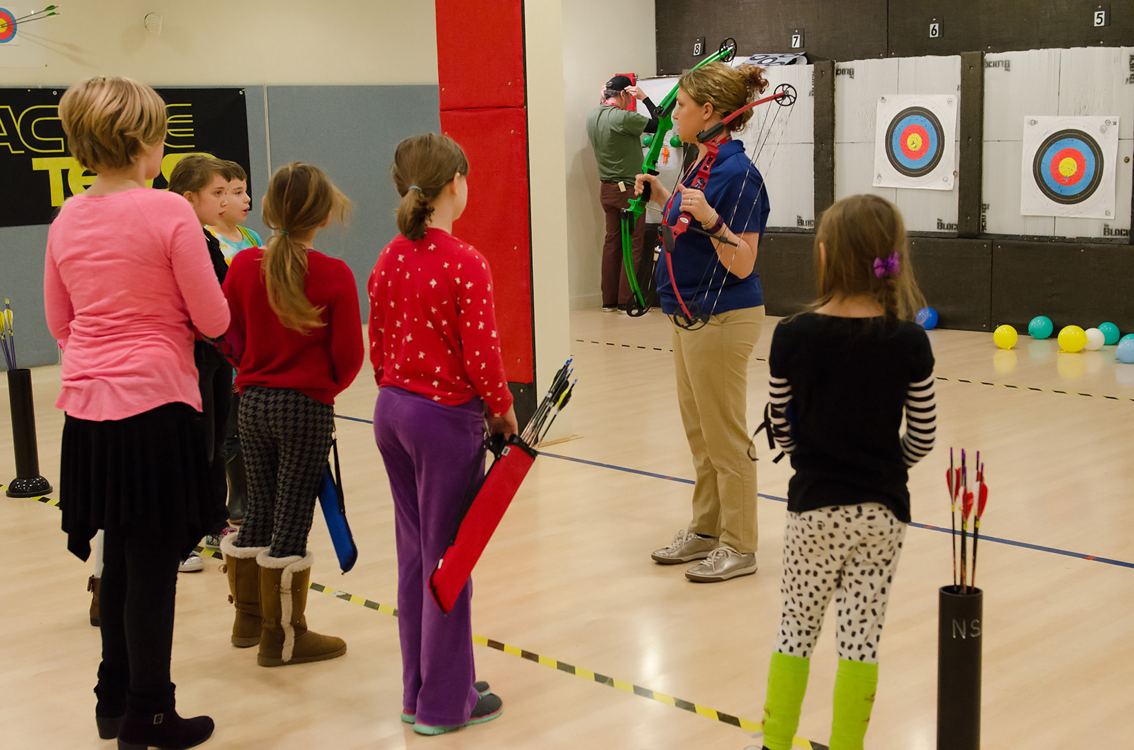 Archery Lessons in Washington